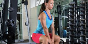 burn fat with kettle bell squats