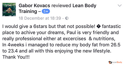 reviews on leanbodyuk